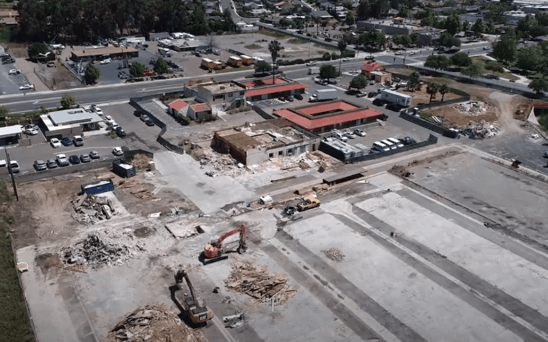Project Highlight: Poway Road & Civic Center Drive Commercial Demolition Project